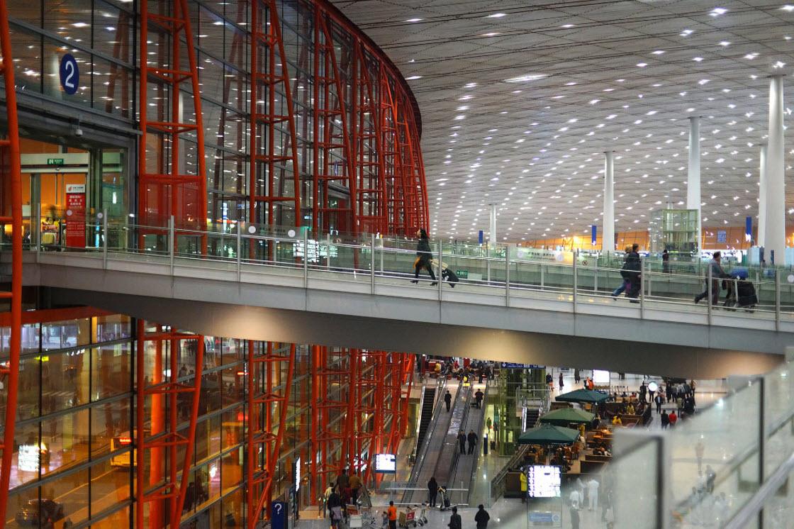 Пекин Дасин — крупнейший в мире аэропорт архитектура,аэропорт,Китай,Пекин Дасин,самолеты,строение