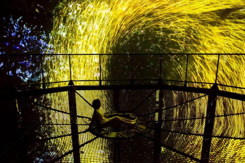 В Японии открыли первый в мире интерактивный музей цифрового искусства Культура и искусство