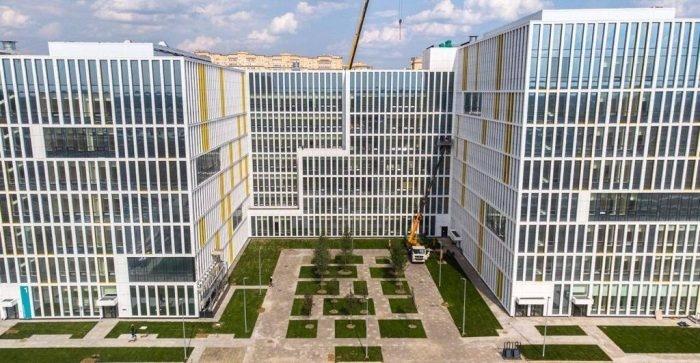 Строительство первой очереди новой больницы в Коммунарке ТиНАО события,Новости,сделано у нас
