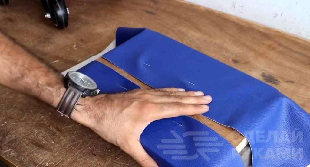 Табуретка на колесиках с полкой для инструмента Самоделки