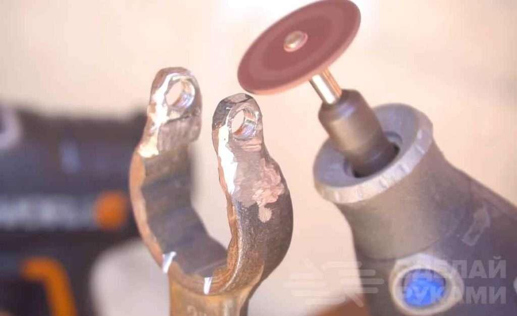 Самодельная точилка для ножей из гаечного ключа Самоделки