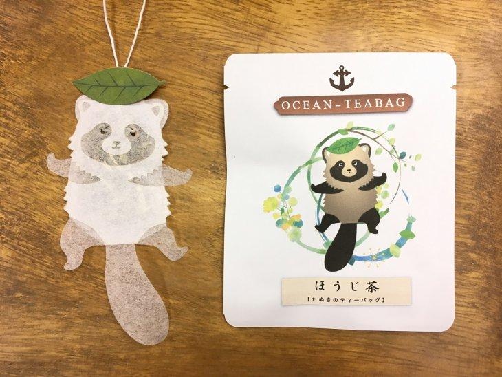 Японские чайные пакетики неожиданной формы Интересное
