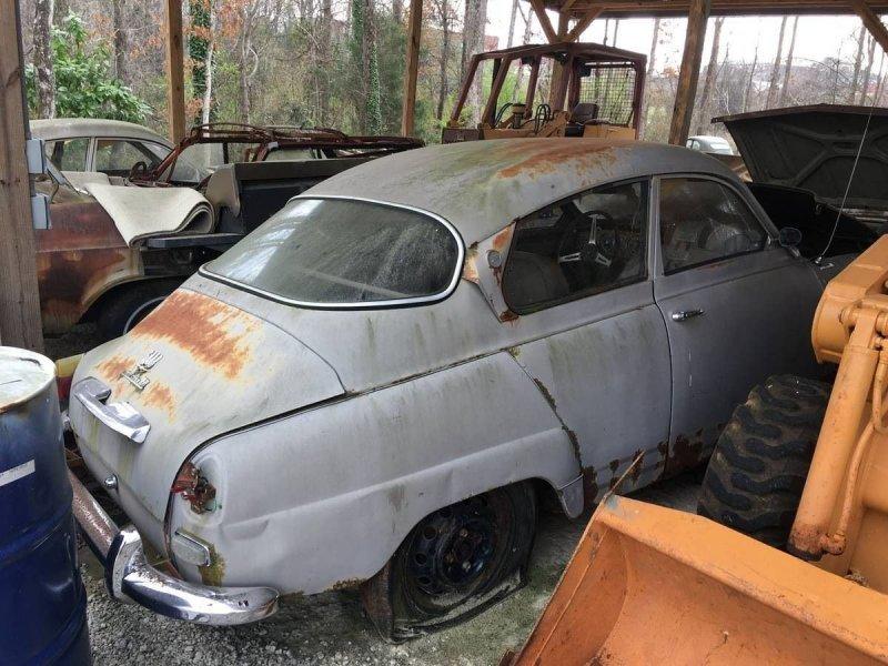 На продажу выставили целую коллекцию редких классических автомобилей SAAB   Интересное