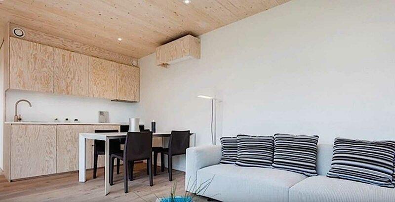 Внутри дешевых, крошечных и красивых домов будущего, в которых возможно мы с вами еще поживем   Интересное
