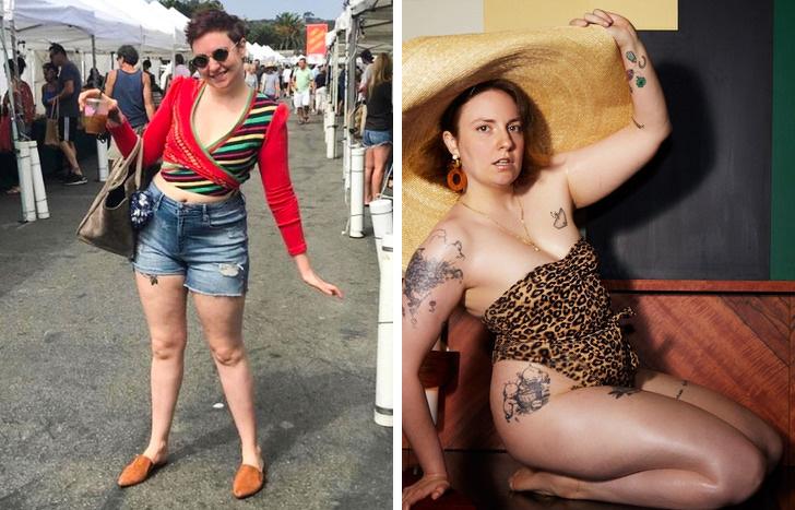 13 знаменитостей, которые доказали, что успех не зависит от размера одежды Интересное