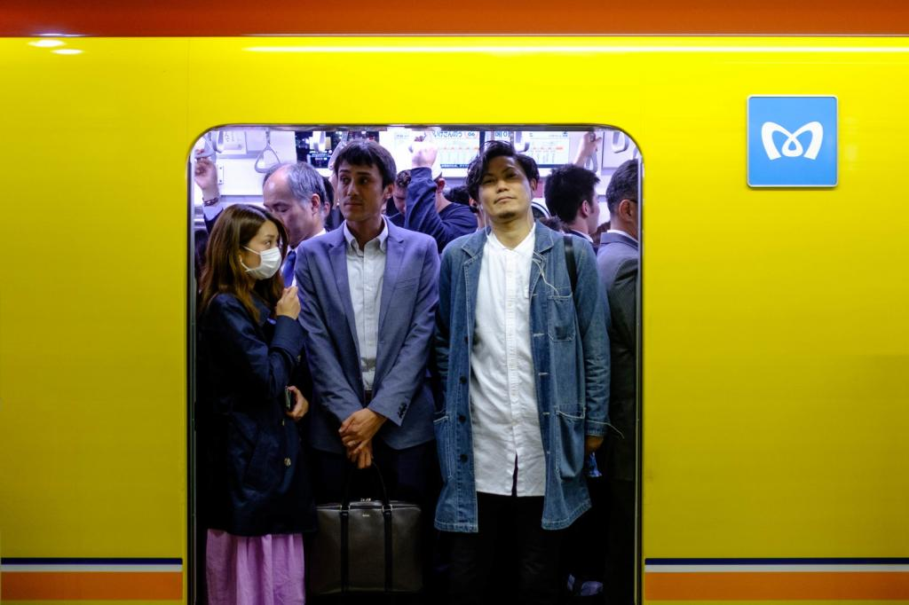 Правила японского метро: шуметь нельзя, мобильные — в беззвучный режим Интересное