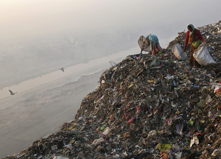 16 щемящих фото, которые показывают, как далеко мы зашли в разрушении Земли Интересное