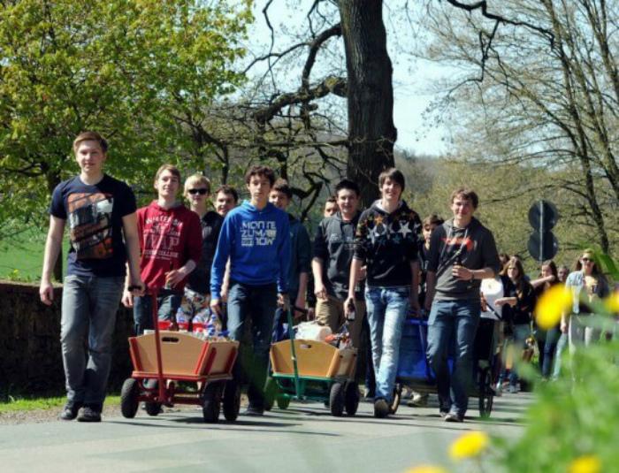 11 странных привычек немцев Интересное