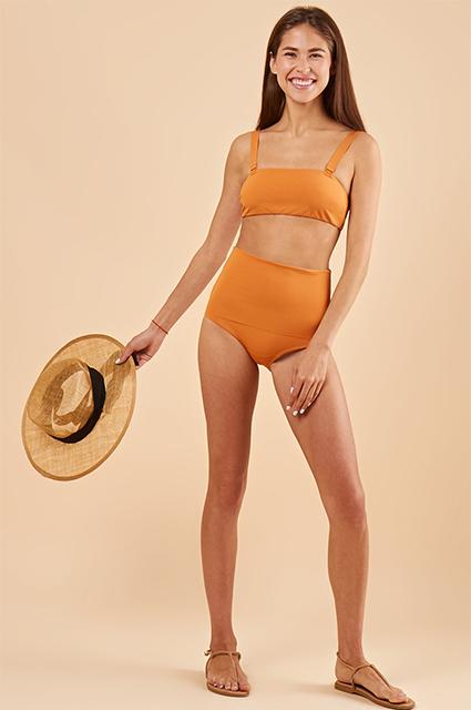 Ко Дню бикини: 10 раздельных купальников от российских брендов дешевле 10 тысяч рублей Новости моды