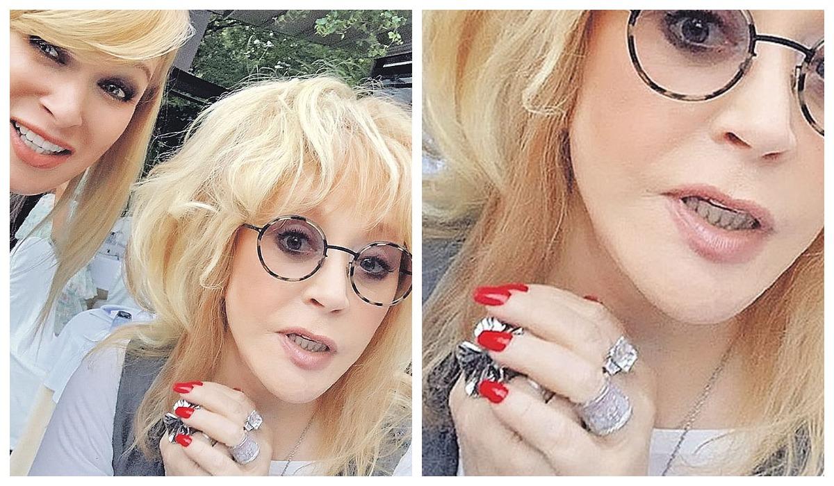 Пугачева продемонстрировала новое роскошное бриллиантовое кольцо Алла Пугачева,звезда,наши звезды,развлечение,фото,шоу,шоубиz,шоубиз