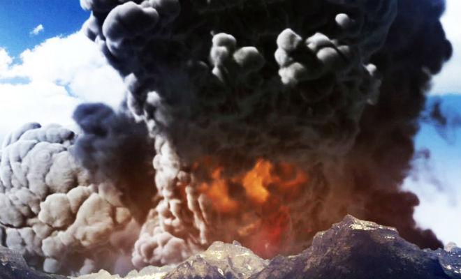 5 самых крупных извержений вулкана в истории человечества вулкан,извержение,история,планета,Природа,Пространство,цивилизация