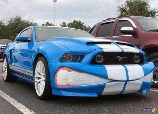 Странные автомобили автомобили,тюнинг
