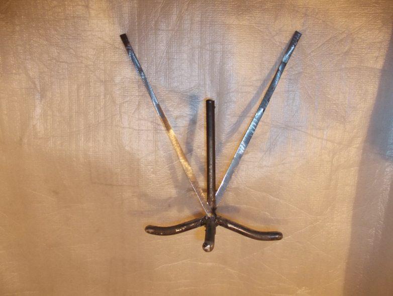 Кованый подсвечник кованый подсвечник,своими руками,сделай сам