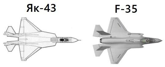 «Як-43» — прототип «F-35» из СССР