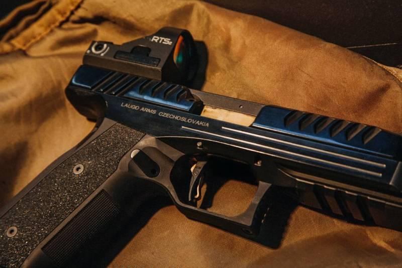 Пришелец калибра 9 мм.