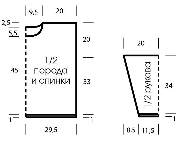 Свободный ажурный джемпер – прекрасный выбор для лета вязание спицами,одежда,своими руками