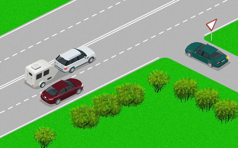 Обгоняем тихохода справа — простой тест на водительский опыт авто и мото,автоновости,пдд