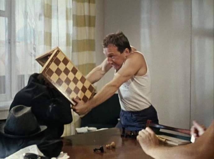 Шахматная партия.... из жизни,Истории из жизни,отношения
