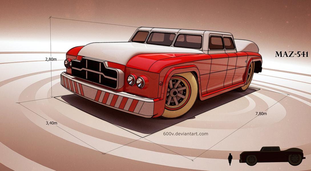 МАЗ-541: самый большой седан в истории автомобилестроения Вещи