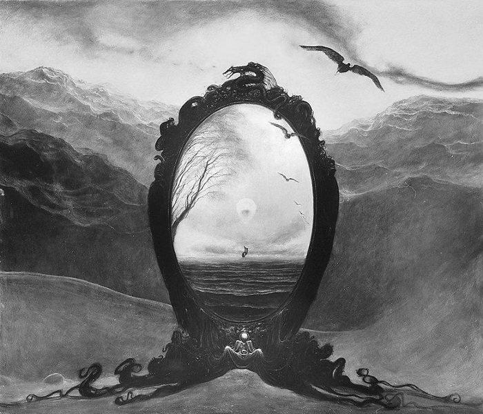 Польский художник пишет на темы смерти, вечности и одиночества