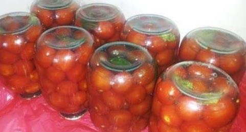 Рецепт вкусных помидор на зиму без зелени рецепты