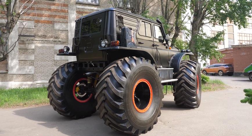 Самый дорогой УАЗ — Внедорожник «Ермак» за 10 миллионов рублей авто,авто и мото,автомобиль,автоновости,УАЗ