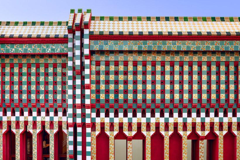 Великолепное творение Гауди — дом Висенс в мельчайших деталях Путешествия,фото