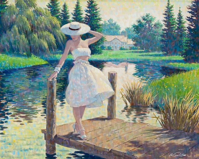Любовь, лето, красота и природа