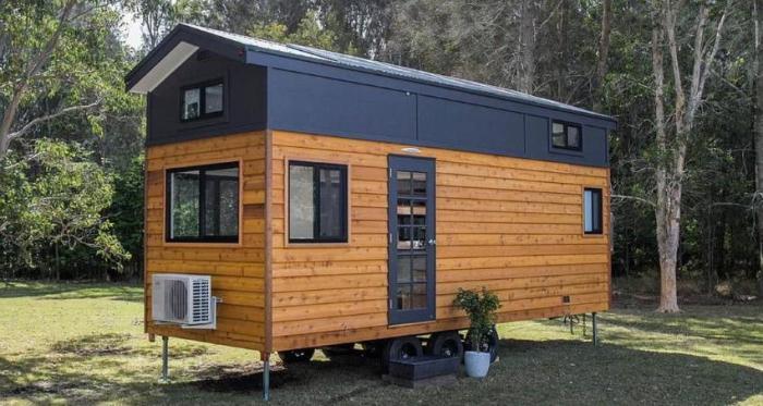 Австралийка разработала 5 моделей крошечных домиков, в которых захочется жить каждому