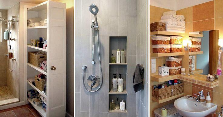 Идеи, которые можно использовать, когда места в ванной не хватает интерьер,сделай сам