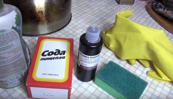 Самодельный очиститель, который справится с нагаром и застарелым жиром в считанные минуты сделай сам,советы
