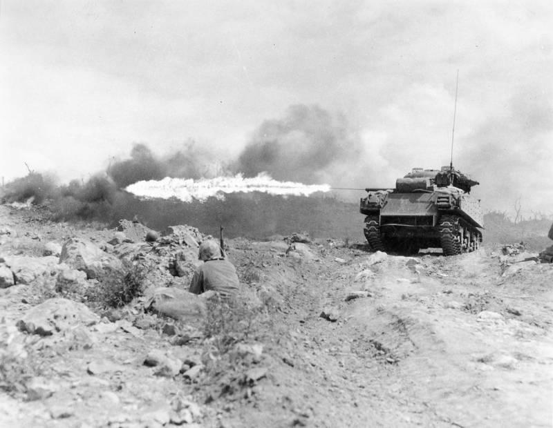 Противотанковые средства японской пехоты во Второй мировой войне оружие
