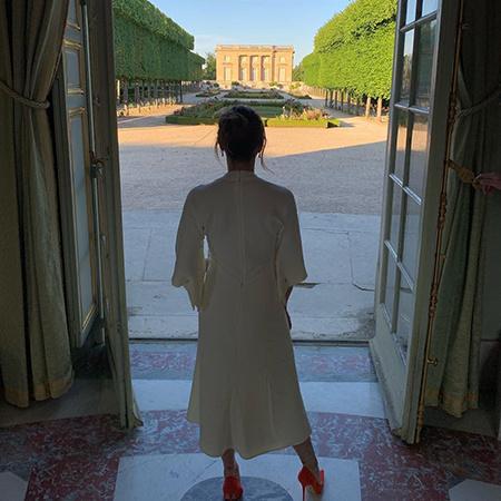 Дэвид Бекхэм устроил для Виктории индивидуальный тур по Версалю в честь 20-летия их свадьбы Звезды,Звездные пары