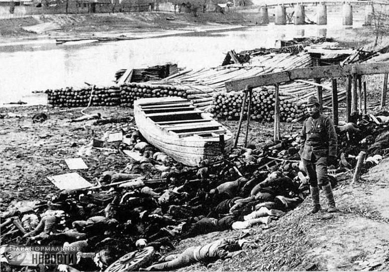 Таинственное исчезновение Нанкинской армии Тайны и мифы